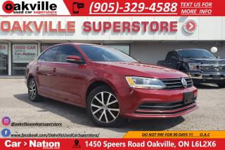 Used 2016 Volkswagen Jetta 1.8 TSI COMFORTLINE | B/U CAM | BT | SUNROOF for sale in Oakville, ON