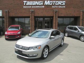 Used 2013 Volkswagen Passat TDI - COMFORTLINE - LEATHER - SUNROOF - HEATED SEATS - BT for sale in Mississauga, ON