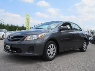 Used 2013 Toyota Corolla ACCIDENT FREE for sale in Newmarket, ON