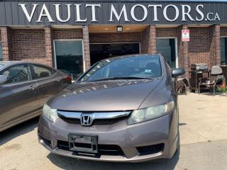 Used 2010 Honda Civic 4dr Auto DX-G for sale in Brampton, ON