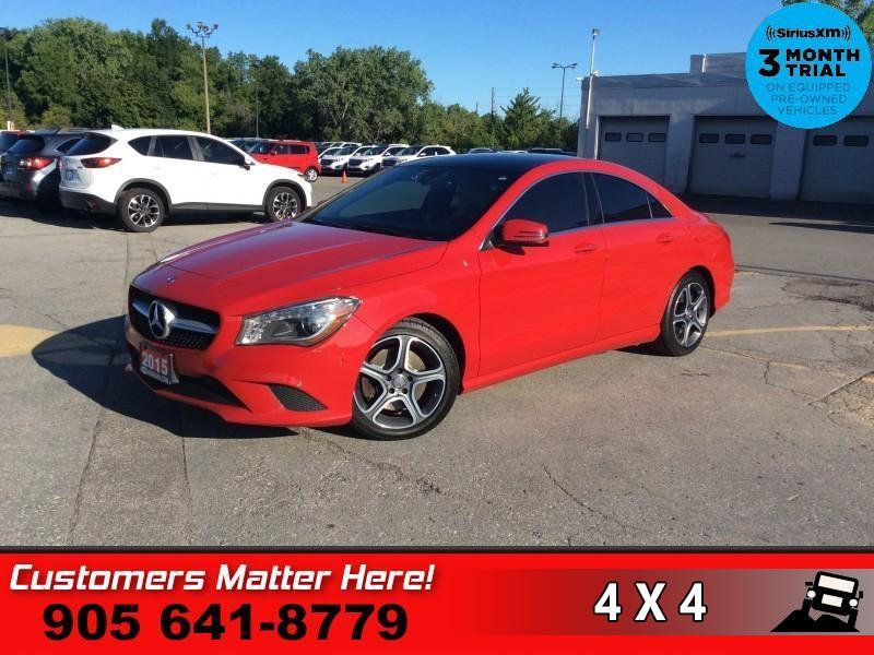 Used 2015 MERCEDES BENZ CLA-Class CLA 250 4MATIC AWD PANO