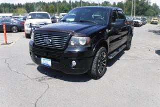 Used 2008 Ford F-150 Harley Davidson SuperCrew Short Box 4WD for sale in Burnaby, BC