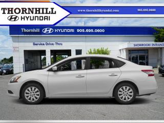 Used 2014 Nissan Sentra S  - Bluetooth for sale in Thornhill, ON