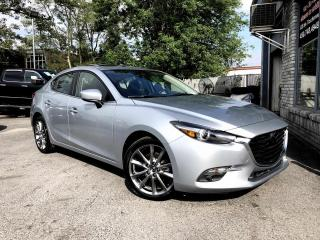 Used 2018 Mazda MAZDA3 GT AUTOMATIQUE BOSE CUIR TOIT for sale in Longueuil, QC