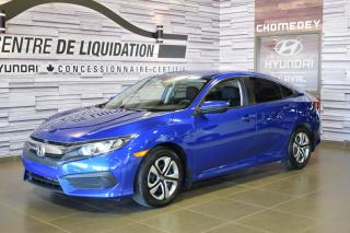 Used 2016 Honda Civic LX for sale in Laval, QC