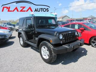 Used 2017 Jeep Wrangler SPORT for sale in Beauport, QC