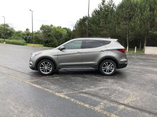 Used 2018 Hyundai Santa Fe Sport Limited 2.0T AWD for sale in Cayuga, ON