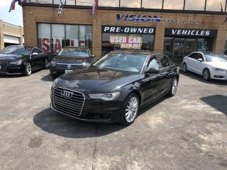 Used 2016 Audi A6 2016 Audi A6 - 4dr Sdn quattro 3.0T Technik for sale in North York, ON