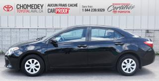 Used 2014 Toyota Corolla Ce, Réservé for sale in Laval, QC