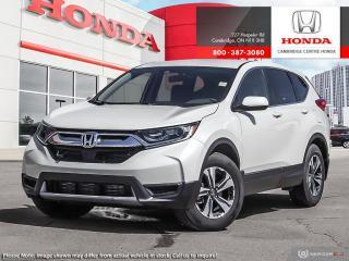 New 2019 Honda CR-V LX AWD for sale in Cambridge, ON