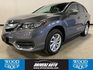 Used 2017 Acura RDX Tech REMOTE START, BLIND SPOT MONITORING, NAVIGATION for sale in Calgary, AB