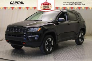 Used 2018 Jeep Compass Trailhawk*LEATHER*SUNROOF*NAV* for sale in Regina, SK