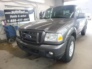 Used 2011 Ford Ranger Sport AWD for sale in St-Raymond, QC