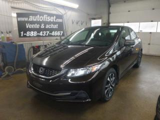 Used 2014 Honda Civic 4dr CVT EX for sale in St-Raymond, QC