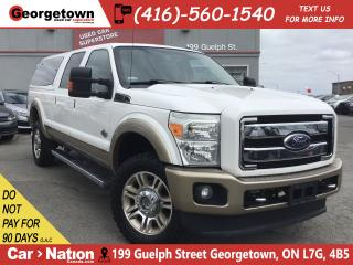 Used 2011 Ford F-350 Lariat King Ranch|LEATHER|NAVI |ROOF|TOW PKG |RARE for sale in Georgetown, ON