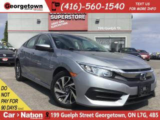 Used 2016 Honda Civic EX | SUNROOF | BACK UP CAM | HEATED SEATS | for sale in Georgetown, ON