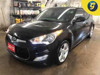 Used 2012 Hyundai Veloster 6 speed manual * Push button ignition * Park assist with reverse camera * Auto headlights with fog lights * Phone connect * Hands free steering wheel for sale in Cambridge, ON