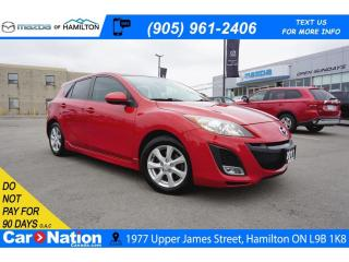 Used 2011 Mazda MAZDA3 GS | SUNROOF | BLUETOOTH | ALLOYS for sale in Hamilton, ON