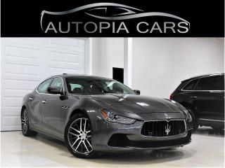 Used 2015 Maserati Ghibli S Q4 NAVIGATION BACKUP MASERATI WARRANTY for sale in North York, ON