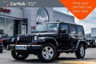 Used 2011 Jeep Wrangler Unlimited Sahara|4x4|Power.Convi,Connect,Trailer.Tow.Pkgs|GPS| for sale in Thornhill, ON