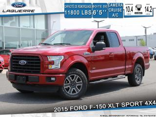 Used 2015 Ford F-150 Xlt Sport 4x4 Camera for sale in Victoriaville, QC