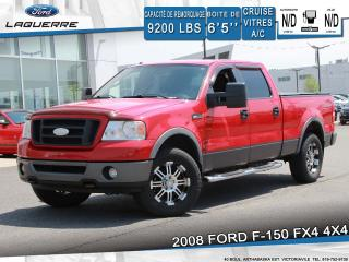 Used 2008 Ford F-150 Fx4 4x4 Cruise Vi for sale in Victoriaville, QC