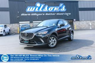 Used 2016 Mazda CX-3 GS AWD - Leather, Navigation, Sunroof, Rear Camera, Bluetooth, Heated Seats, Alloys and more! for sale in Guelph, ON