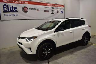 Used 2017 Toyota RAV4 Se+awd+t.ouvrant for sale in Sherbrooke, QC