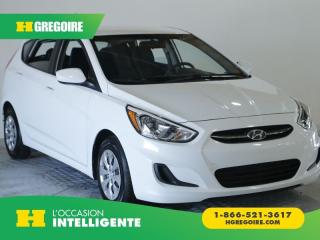 Used 2016 Hyundai Accent LE AC AM FM for sale in St-Léonard, QC