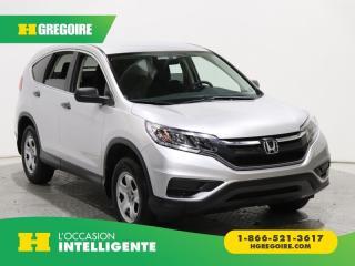 Used 2016 Honda CR-V LX A/C GR ÉLECT for sale in St-Léonard, QC