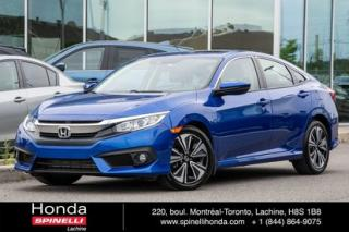 Used 2017 Honda Civic Ex-T 1.5 Turbo Toit for sale in Lachine, QC