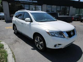 Used 2013 Nissan Pathfinder PLATINUM 4WD ** 7 PLACES+ NAVIGATION**** for sale in St-Hubert, QC