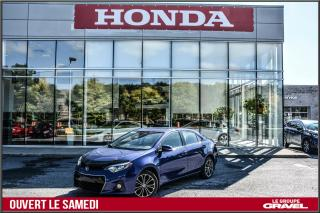 Used 2016 Toyota Corolla S - Toit ouvrant - Mags - Air clim - for sale in Ile-des-Soeurs, QC