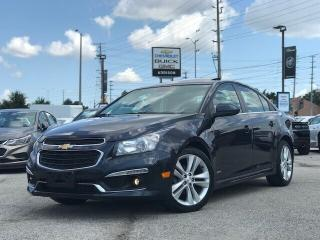 Used 2015 Chevrolet Cruze LT Turbo RS|Navi|Leather|Sunroof| for sale in Mississauga, ON