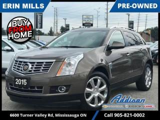 Used 2015 Cadillac SRX AWD Performance  NAVI|PANO ROOF|LOW KM| for sale in Mississauga, ON