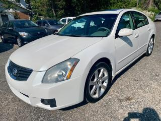 Used 2008 Nissan Maxima 4dr Sdn, auto, 3.5 V-6, leather, moonroof, for sale in Halton Hills, ON