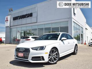 Used 2017 Audi A4 S-LINE | 360 CAM | DRIVER ASST | PARK ASST | NAVI for sale in Mississauga, ON