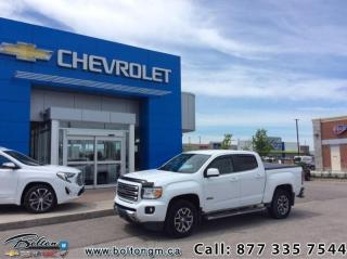 Used 2017 GMC Canyon SLE  - Navigation -  IntelliLink - $259 B/W for sale in Bolton, ON