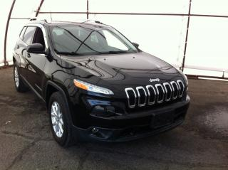 Used 2017 Jeep Cherokee North FANTASTIC FUEL ECONOMY WITH THE 2.4 LITER ENGINE AND THE STANDARD 9 SPEED AUTOMATIC TRANSMISSION for sale in Ottawa, ON