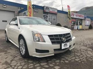 Used 2011 Cadillac CTS ACCIDENT FREE_LEATHER_SUNROOF_BLUETOOTH_WARRANTY for sale in Oakville, ON