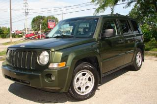 Used 2007 Jeep Patriot SPORT for sale in Mississauga, ON