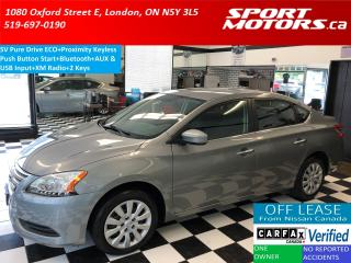 Used 2014 Nissan Sentra SV ECO+Bluetooth+Push Start+XM Radio+A/C for sale in London, ON