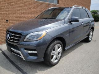Used 2012 Mercedes-Benz M-Class BlueTEC/NO ACCIDENTS/LEATHER/SUNROOF/NAVI/CAM for sale in Oakville, ON