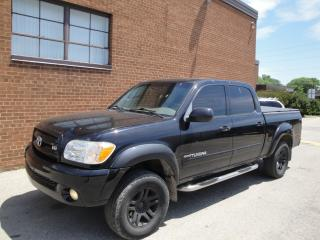 Used 2005 Toyota Tundra LIMITED-LEATHER-SUNROOF for sale in Oakville, ON