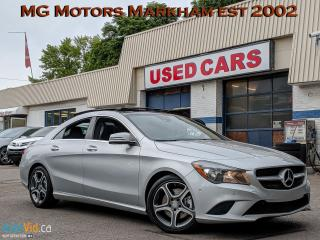 Used 2014 Mercedes-Benz CLA-Class 4MATIC for sale in Markham, ON