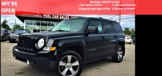 Used 2016 Jeep Patriot Sport 4WD | TEXT US|647.678.7778| HEATED LEATHER SEATS|NAV|SUNROOF. for sale in Mississauga, ON