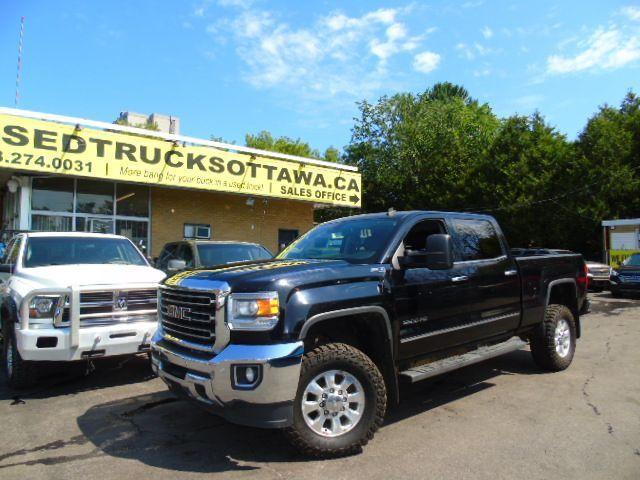 2015 GMC Sierra 3500 SLT 6.6 Diesel 4x4 Loaded!!!