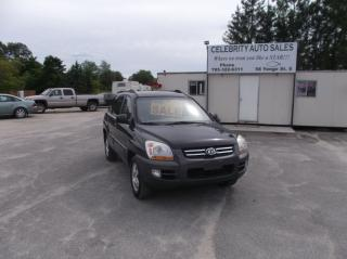 Used 2007 Kia Sportage AWD LX for sale in Elmvale, ON