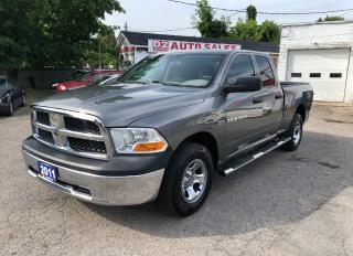 Used 2011 RAM 1500 Quad Cab/HEMI/4x4/Automatic/6 Passenger for sale in Scarborough, ON