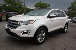Used 2017 Ford Edge SEL LEATHER PANO ROOF for sale in Toronto, ON